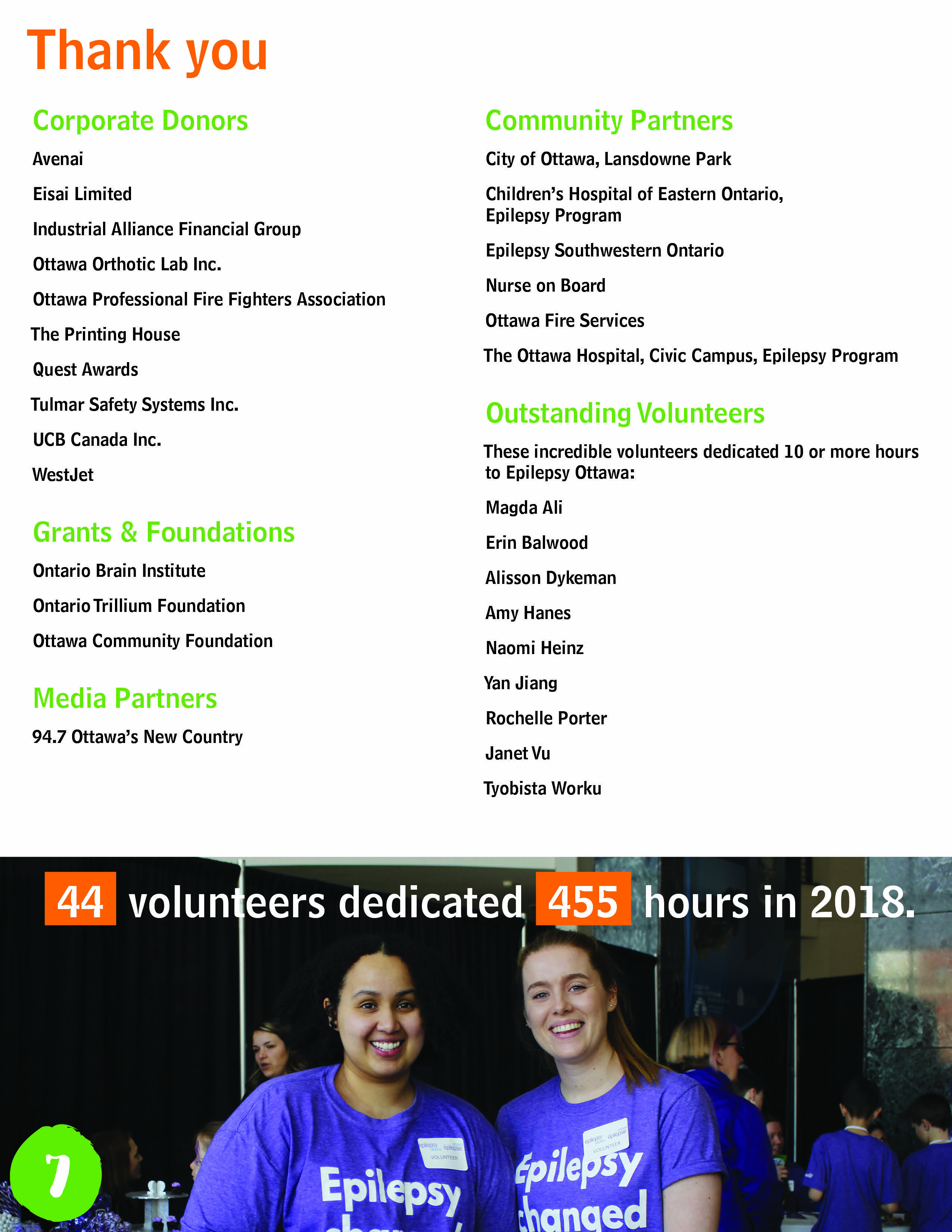 The Annual Report 2018 page 7