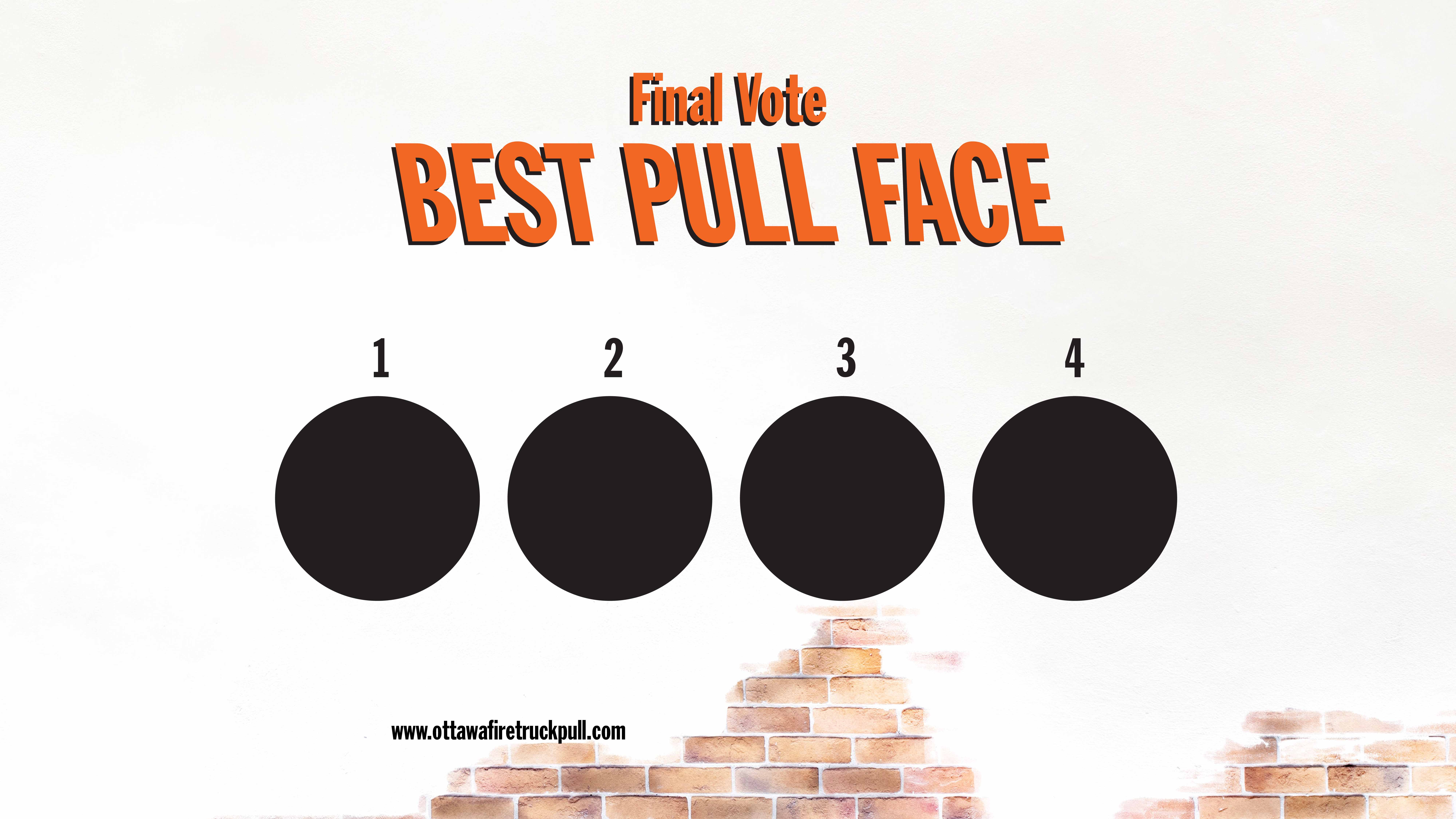 The Final Vote for the Best Pull Face