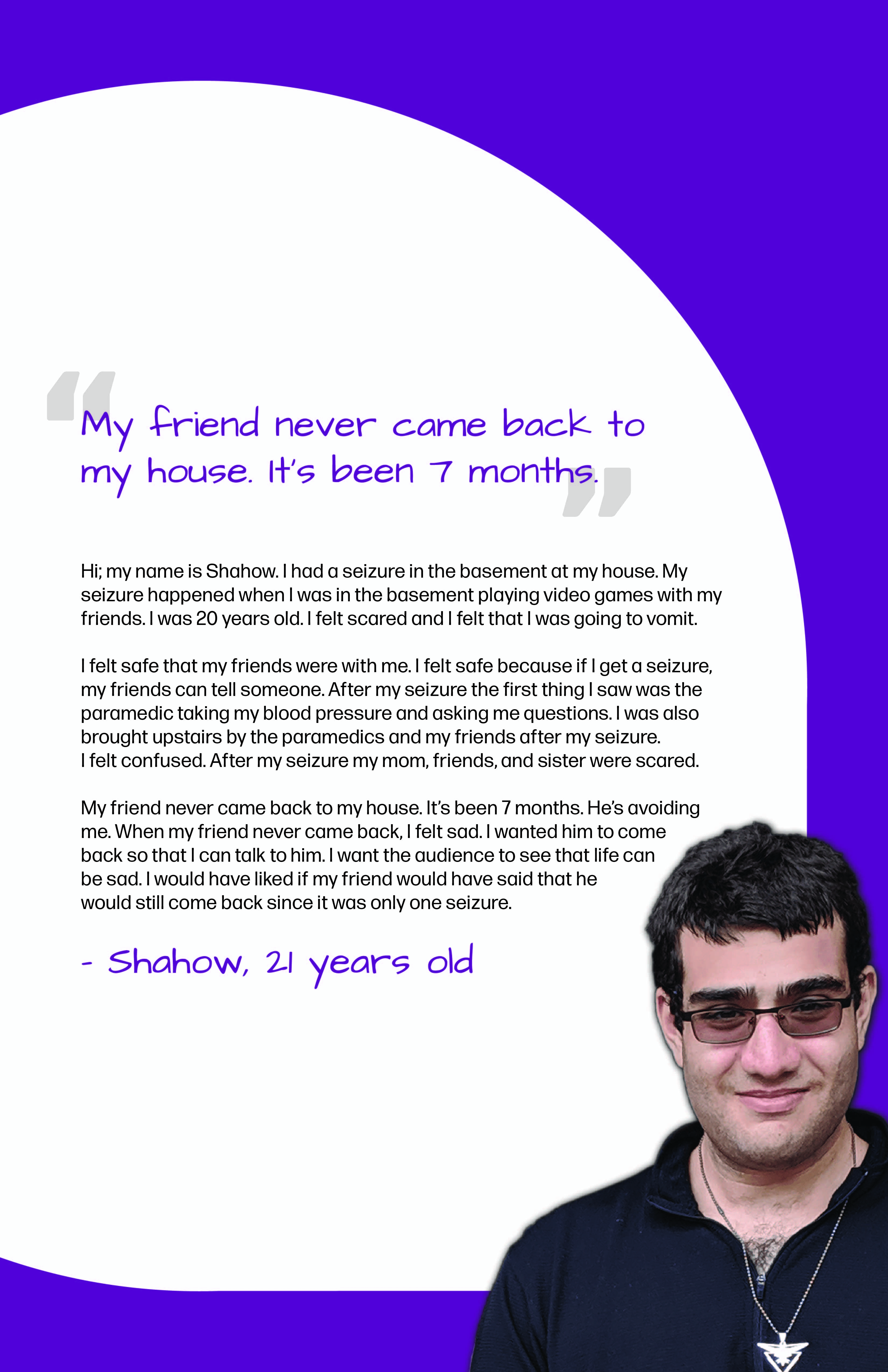 Shahow's Epilepsy Perspective Images Club story poster